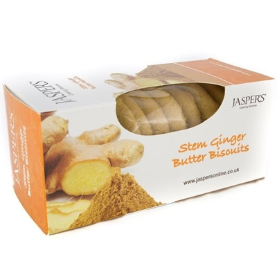 Jasper's Jasper's Stem Ginger Butter Biscuits