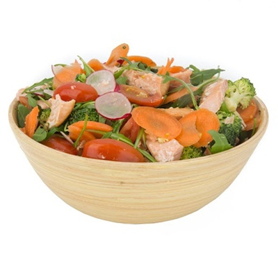 Jasper's Salmon Steak Salad